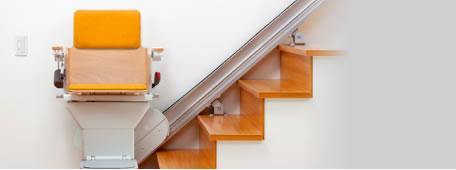 階段昇降機(椅子式)イメージ