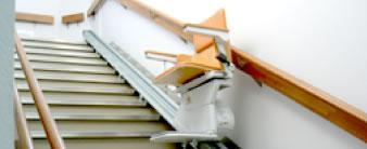 階段昇降機(椅子式)設置事例イメージ