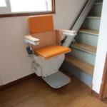 入院中の奥様のために昇降機を設置